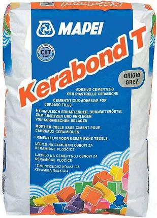 Клей для плитки KERABOND T  сірий 25 кг MAPEI, фото 2