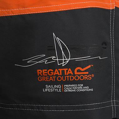 Чоловічі шорти Regatta Bratchmar L Orange-Grey, фото 2