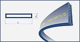 Ремень 140x5-3145 Lw Harvest Belts (Польша) 80230080 New Holland  , фото 2