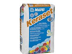 Клей для плитки KERASET T  сірий 25 кг MAPEI