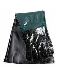 Резиновые перчатки для пескоструя BORO 60см (0265)