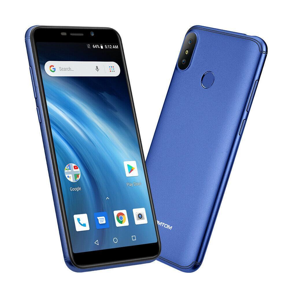 Смартфон Homtom C1 blue