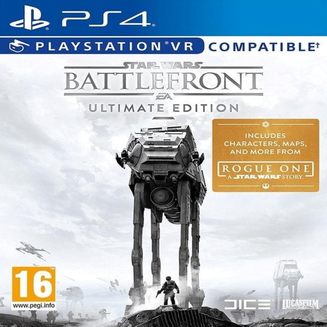 Star Wars: Battlefront Ultimate Edition (російські субтитри) PS4