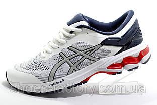 Белые мужские кроссовки в стиле Asics Gel Kayano 28, White