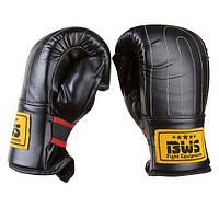 Снарядные перчатки BWS, DX, рр. M, L, XL, черный.