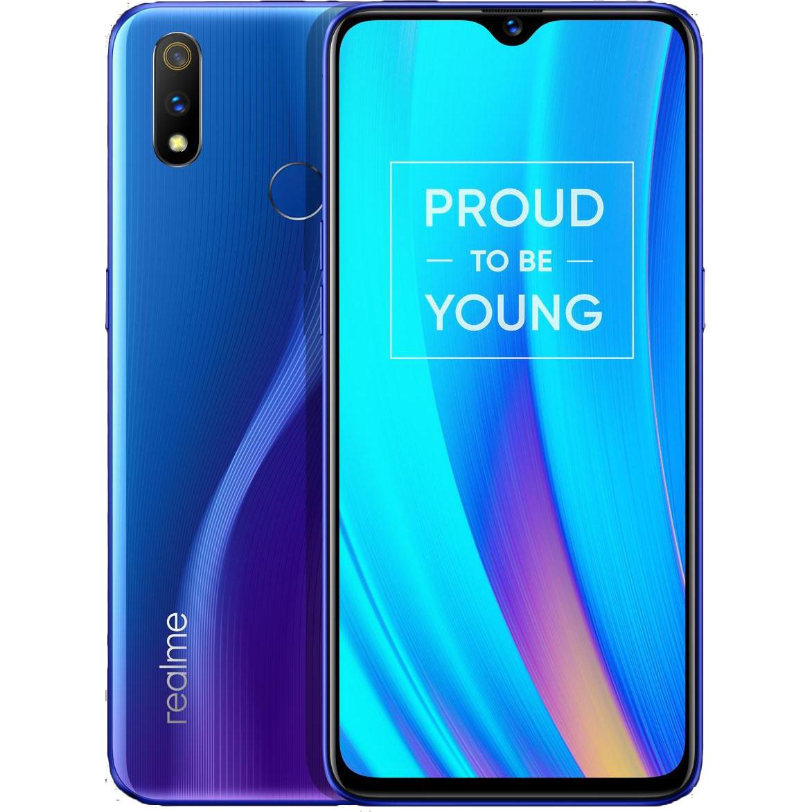 Смартфон OPPO realme 3 Pro RMX1851 blue global version