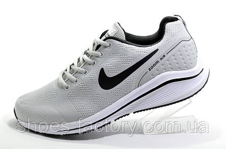 Беговые кроссовки в стиле Nike Air Zoom Flyknit, Gray, фото 2