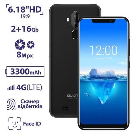 Смартфон OUKITEL C12 black