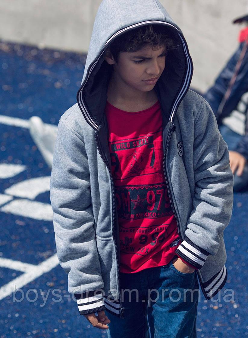 Двостороння куртка для хлопців