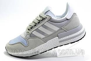 Кроссовки женские в стиле Adidas ZX 500 RM Boost, Gray\White