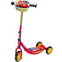 Детский самокат трехколесный «Тачки 3» Smoby 750154 складной для детей