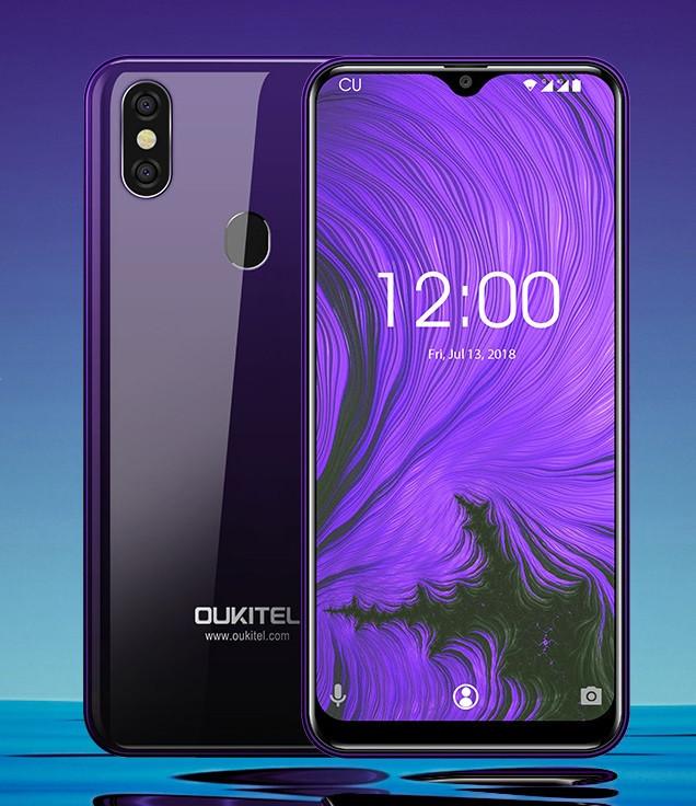 Смартфон OUKITEL C15 Pro 2/16Gb purple