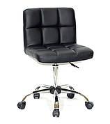 Кресло офисное  на колесах  ARNO СН-OFFICE  еко шкожа , черный