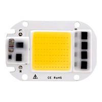 Светодиодная матрица с драйвером COB LED 50Вт 4500лм 220В, тепл. белая 2000-04755