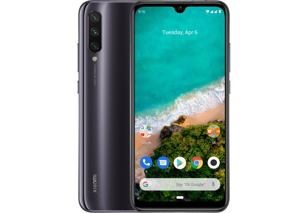 Смартфон Xiaomi Mi A3 4/128Gb black Global Version