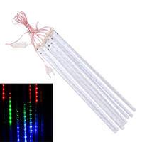 Гирлянда светодиодная новогодняя цветная Таяние Сосулек 8 LED ламп 3.6м 2000-04823