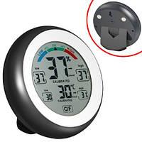 Термометр цифровий гігрометр термогігрометр метеостанція CJ-3305F 2000-04842