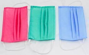 Маска для лица, не стерильная цвета рандомные в ассортименте В упаковке 20 шт (NA30)