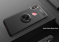 Тонкий бампер с кольцом AUTO FOCUS для Xiaomi Mi MAX 3