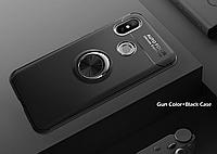 Тонкий бампер с кольцом AUTO FOCUS для Xiaomi Redmi S2