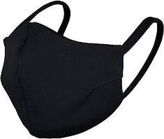 Многоразовая защитная маска для лица черная угольная