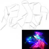 Гирлянда светодиодная новогодняя цветная Сосульки 20 LED ламп 4.5м 2000-01040