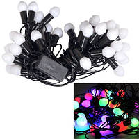 Гірлянда новорічна світлодіодна цветная Шишки 40 LED ламп 5.8 м 2000-03249