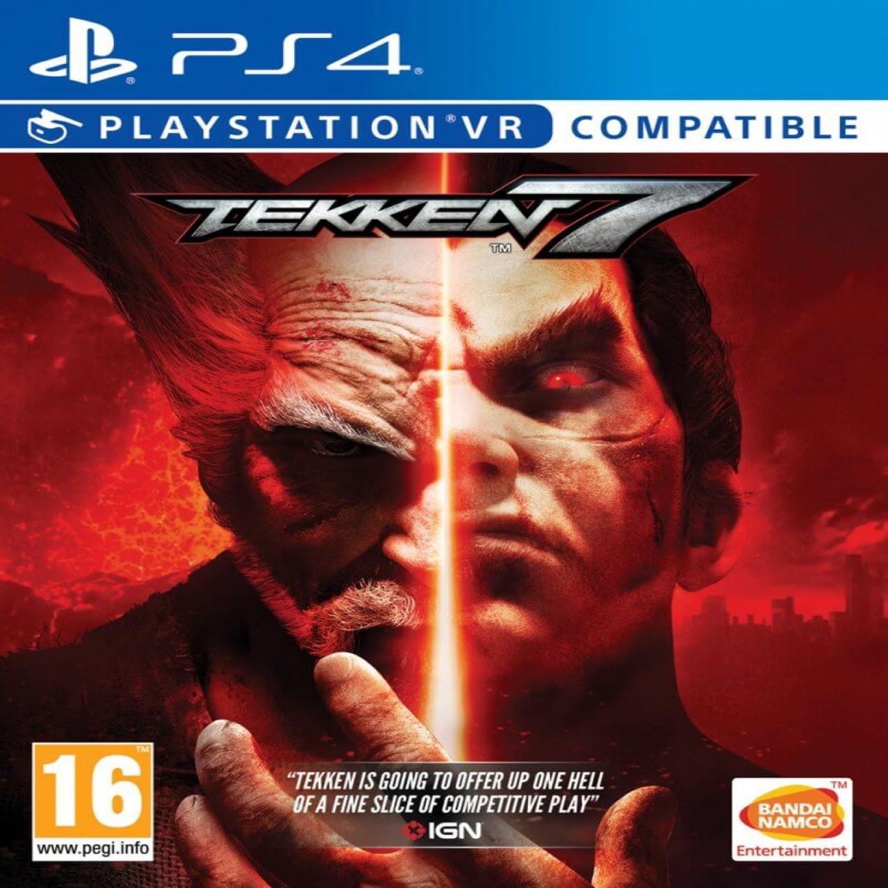 Tekken 7 RUS PS4