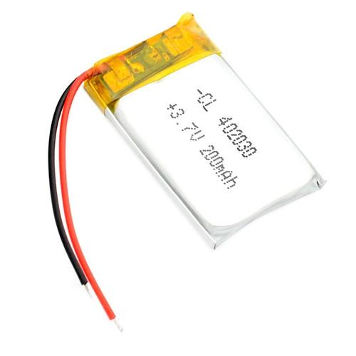 Акумулятор 402030 Li-pol 3.7 В 200мАч для RC моделей GPS MP3 MP4 2000-01532