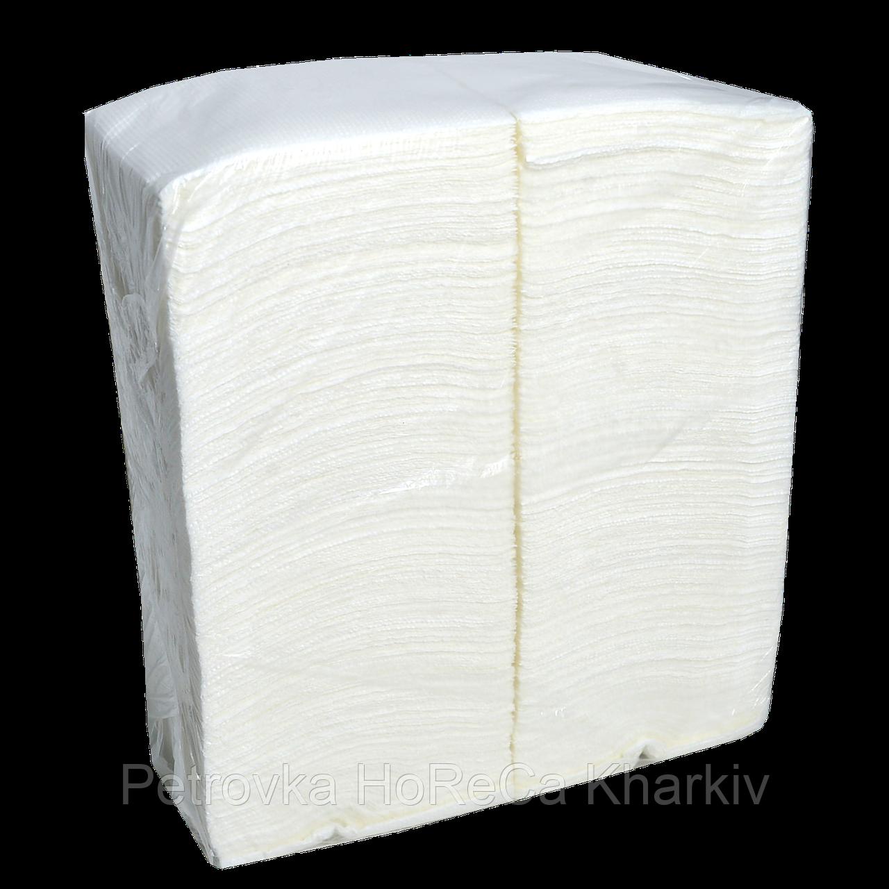 Серветка Біла Барна ,( уп / 500 шт )
