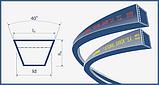 Ремень В(Б)-1640 (B 1640) Harvest Belts (Польша) 537072R92 (к-т 2шт.) Case IH, фото 2