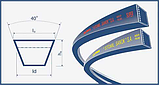 Ремень В(Б)-1695 (B 1695) Harvest Belts (Польша) 758662.0 Claas , фото 2