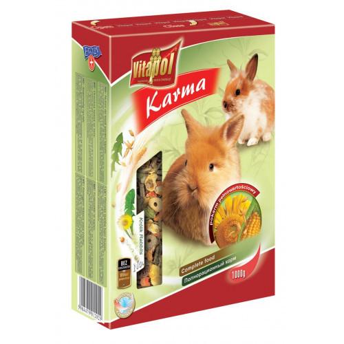 Корм Vitapol полнорационный, для кроликов, 1000 г