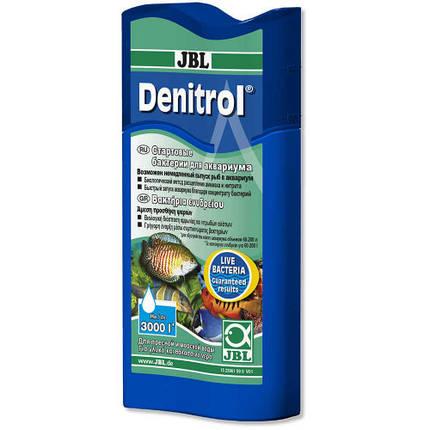 Стартовые бактерии JBL Denitrol для пресноводных и морских аквариумов, 100 мл, фото 2