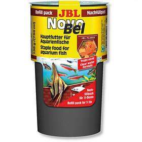 Основний корм у формі пластівців JBL NovoBel Refill для акваріумних риб, 750 мл