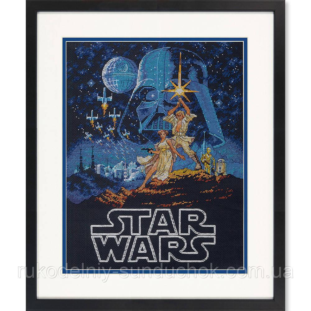 """Набір для вишивання Dimensions """"Люк і Принцеса Лея // Luke and Princess Читати"""" 70-35380"""