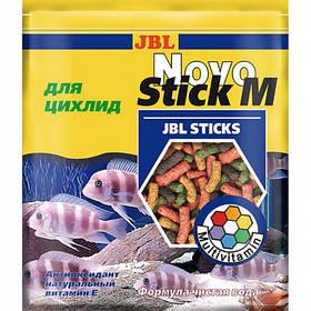 Основний корм JBL NovoStick M у формі паличок для хижих цихлид, 50 мл