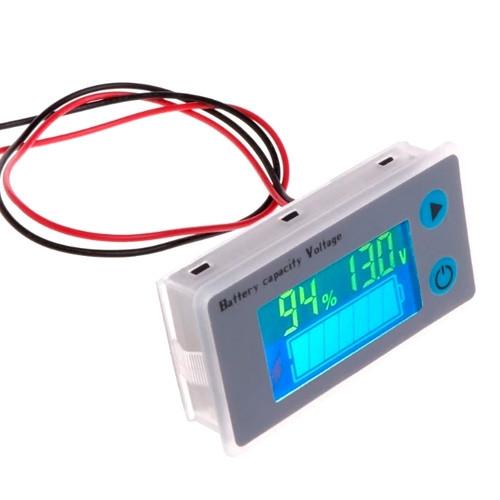 Индикатор заряда аккумулятора % вольтметр 10-100В Li-ion LiFePO4 Pb 2000-03599