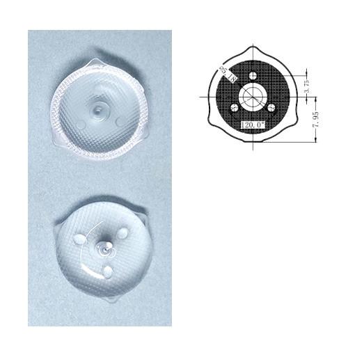 10x Розсіююча оптична лінза LED планки підсвічування ТБ, внутр кріплення 2000-05082