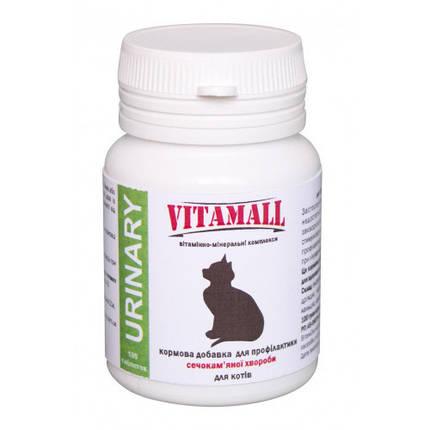 Кормовая добавка VitamAll профилактика мочекаменной болезни, для котов, 100 табл/50 г, фото 2