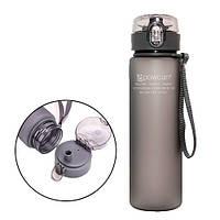 Бутылка для воды 560мл с дозатором для спорта POWCAN 2000-03584