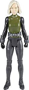 Фигурка Hasbro Чёрная Вдова, Марвел, 30 см - Black Widow, Marvel, Titan Hero Series (E2217)