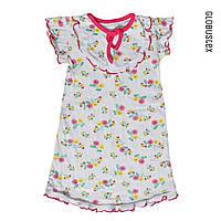 Ночная сорочка пижама для девочки, жатка, размер - 32/34, рост 122-128 / 134-140