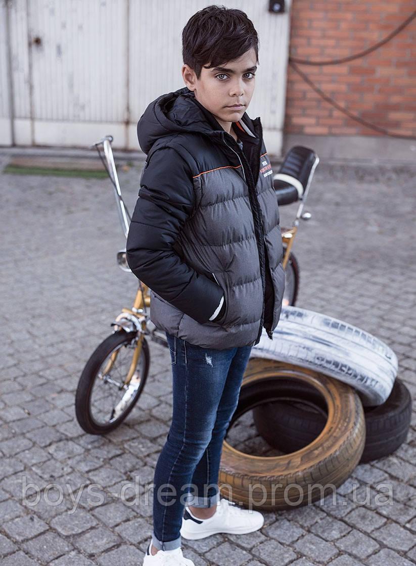 Демісезонна куртка трансформер для хлопчика