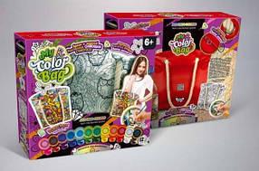 "Комплект креативного творчества ""My Color Bag"" сумка-раскраска / Набор для творчества"
