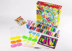 """Набор креативного творчества 7651DT Тесто для лепки """"Master Do"""" 30 цветов, фото 3"""