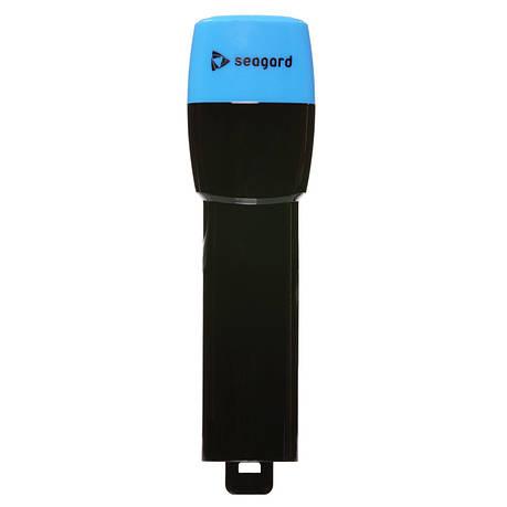 Трубка Seagard Easybreath для полнолицевой маски для плавання S/M 24 см Чорно-Синій (SUN1021), фото 2