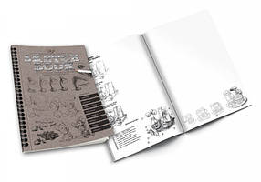 Набор для творчества SKETCH BOOK / Раскраска / Набор для творчества