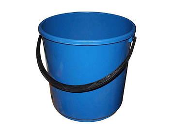 Вiдро 10л синє Алеана (без кришки)