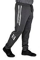 Мужские спортивные брюки N-Sport темно-серые с серым, фото 1